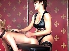 Rough femdom strapons tiedup soumise