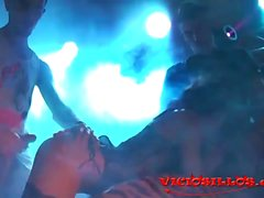 trio extremo Ashley Woods palhaço louco y Kendo en el FEDA