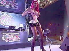 Койота танцевальные девушек два тысячи четырнадцать Бангкок Таиланд