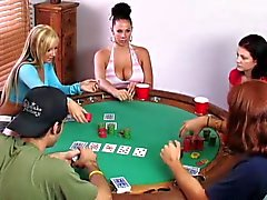 Swingers play poker card game