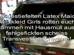 Scheiss Transvestitenschweine Scheiss Fickfehler Scheiss Kleidtraeger