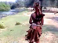 Afrique du fille chaude