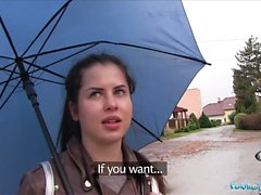 Agent Public Wet Russian Spreads Jambes For Cash