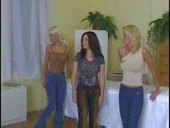 5 flator med dildos vid gynekolog kontor