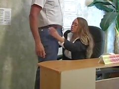 executive blowjob at the office