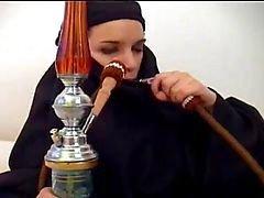 Arabiska muslimska HIJAB Turbanli Girl FUCK - NV