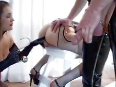 fetish latex action
