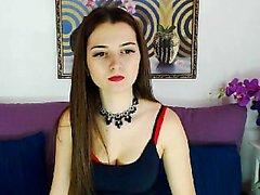Rus kız webcam üzerinde mastürbasyon