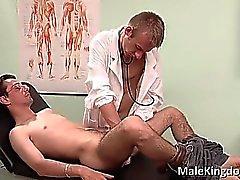Schmutzigen Homo- auf den Bett Ärzten Teil 1 gelegten