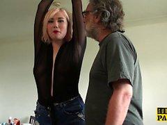 BDSM евро шлепали и ударил во roughsex