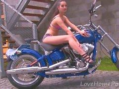 Kamera için Sıcak motosiklet bebek şeritler
