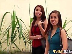 Cornea filippine Aiza si pimped Partenza sesso dalla sua migliore amico