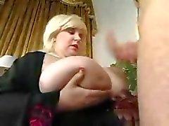 Büyük Göğüsler ile Olgun Fat BBW Milf