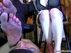 Foot Humiliation and Foot Stool_Maya