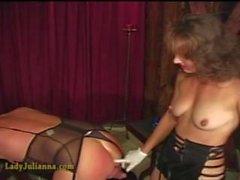 Lady Julianna fucking sissy slave