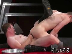 Gay twink fisted and breaking gay fist In an acrobatic 69, A