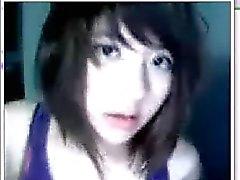 A Camfrog da menina asiática