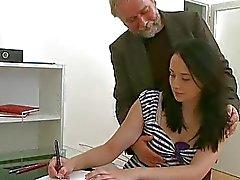 Personalisierten Botschaft anbietet Fotze für Lehrer lusty Freude