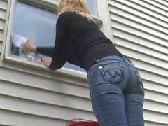 L' pulitore di finestre