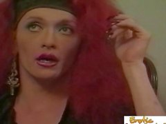 Redhead Crossdresser Talking About Her Sexual