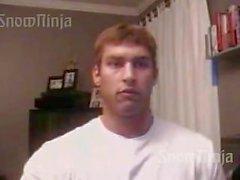 Kehonrakentaja Brett Mycles Verkkokamera Posing laadinta # yksi