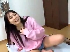 HOT Asian Babe Fingersatz HD