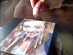 Jill super Skvätter krämiga ansikts Sperma cam 2