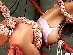 Tentacle monster Knull Celeb ultimat 3D Porn Tecknade