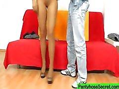 Gabrielle nylon slang fetish shag