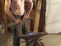 Stahl für das Temperament vorbereiten