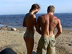 Vlaska ha könet vid stranden