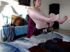 Yoga matura Istruttore Masturbazione