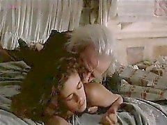 Anne Knecht nudo sdraiato a letto mentre un ragazzo le immette un inizio