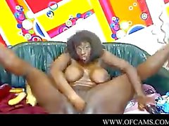Black latin girl fucking on webcam pvt