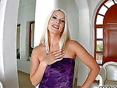 Stunning pensasmainen blonde ehtii Analyysi creampie annetun Asstraffic