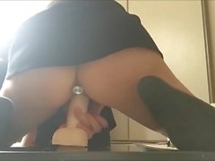 Estudante sexy coreana RUB Anal