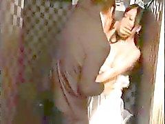 Busty Aasian tyttö saa sen hänen ex hänen häät seremonia