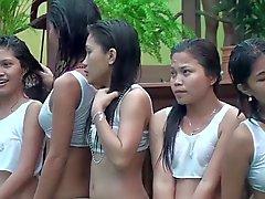 Camisetas molhado nas Filipinas