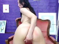 ragazze FTV bruna solista diteggiatura figa porno