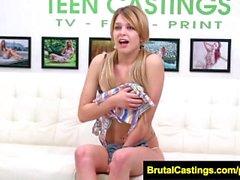 FetishNetwork Abby Paradise bound blonde for casting