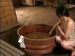 Mamãe Peitos Japoneses Ama Ao Ar Livre