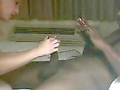 Marido gravar a ação com seu parceiro