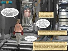 3D Comic: Habitat 5. Episode_13