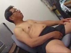 Japanischer alter Mann