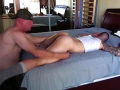 Gaymuskel stor kuk