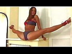 Super sexy flexible Mädchen
