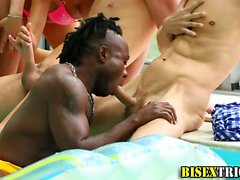 Bisex Interracial Orgy