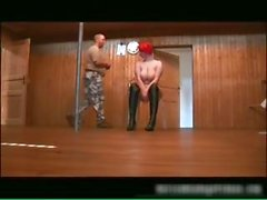 Chubby redhead babe gets bound part3