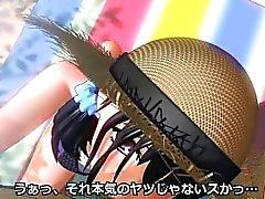 Cute 3D из аниме трахал босса в кабинете