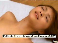 Kirara Asuka Menina chinesa no goza de uma boa porra de